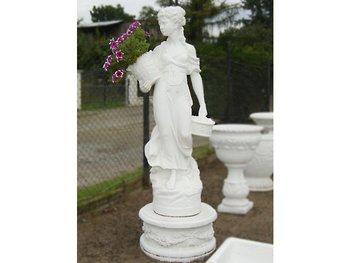 Standbeeld Paesanella hoogte 140 cm wit