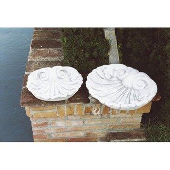 Vogelbad schelp Art.1006