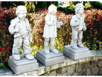 Standbeelden serie I tre Scolaretti Art.417 hoogte 80 cm