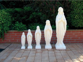 Standbeeld Madonna Lourdes Art.571 , lengte 40cm