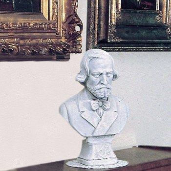 Bust Giuseppe Verdi Art.740 hoogte 32cm