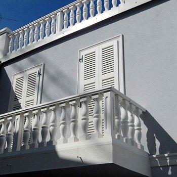 Voorbeeld balustrade Barbone