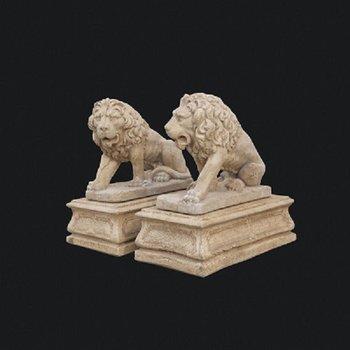 Koppel Egyptische leeuwen Art10605