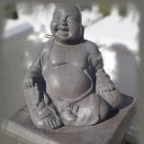 hende Boeddha Zwart