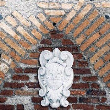 Ornament Wapenschild met Lelie (Art. 792)