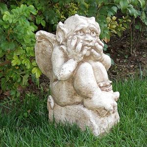 Tuinbeeld Elf