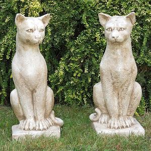 Tuinbeelden Lucifer Katten