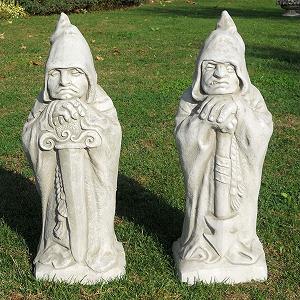 Tuinbeelden Wachters