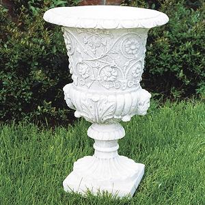 Tuinvaas Biancospino - Sierlijke, Italiaanse gedecoreerde bloempot