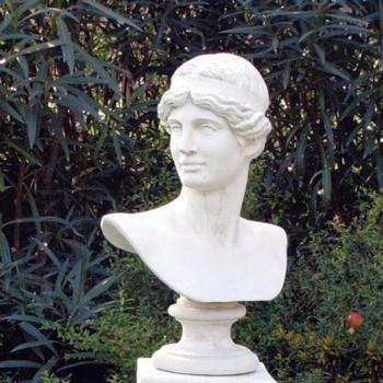 Buste Greco - 58cm - Borstbeeld van een Griek