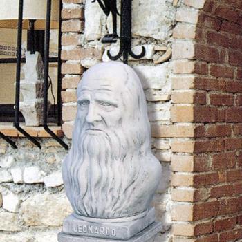 Buste Leonardo Da Vinci - 51cm