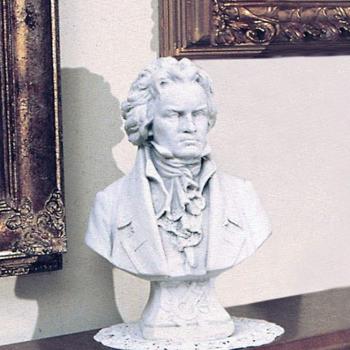 Herfstactie: Buste Beethoven in Natuurlijk wit