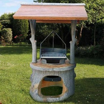 Barbecue Adamello Houten design (Art.4500)
