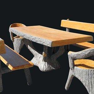 Tafel Sequoia Houten design (Art.4110)